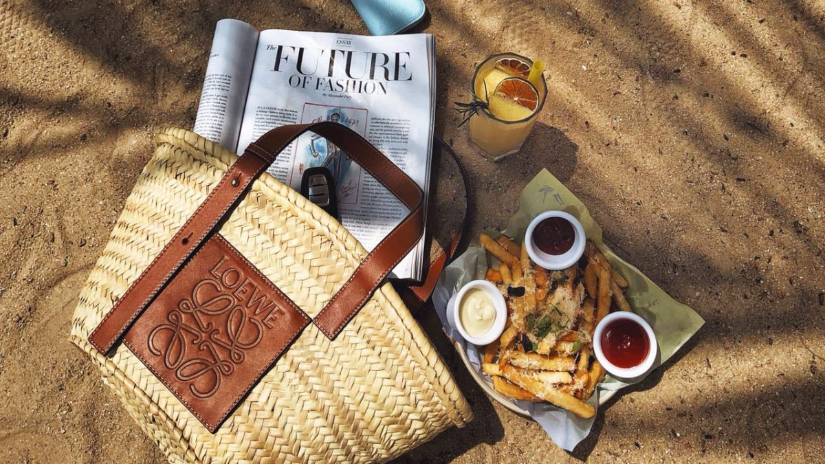fbdaafa830a Home · Fashion; These Basket Bags Will Convince Your Mind That You're  Somewhere Else